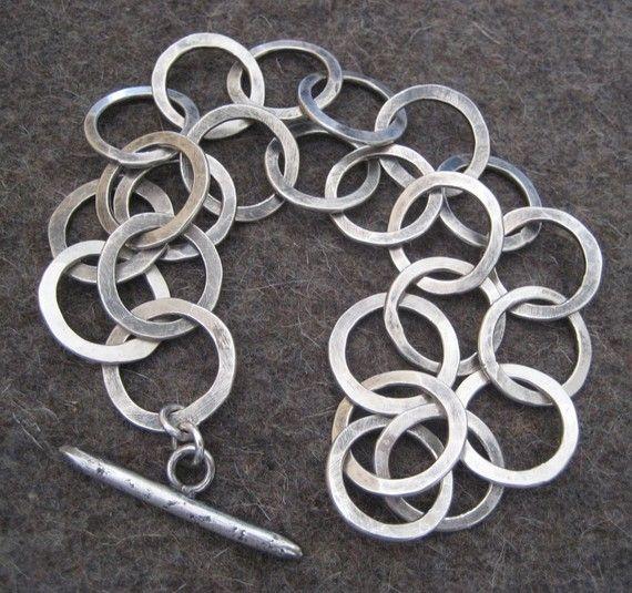 Artisan Links Sterling Silver Bracelet