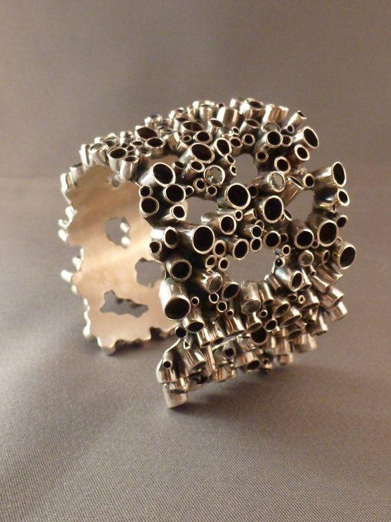 Cuff | Haley Berry ~ bluedahliajewelry on Etsy. Sterling silver