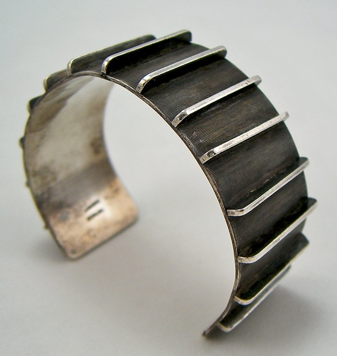 Cuff | Lasnier. Sterling silver. ca. 1950.
