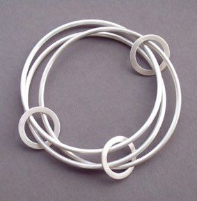 Eternity BangleHand forged from solid sterling silver. This wearable…