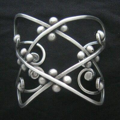 Los Castillo sterling silver bracelet, 1950s