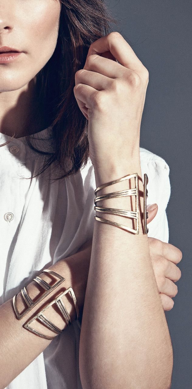 Need this chamber cuff! So modern yet enduring.