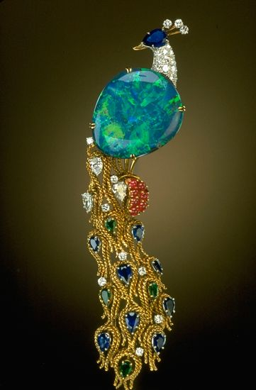 Harry Winston pin; donated to the Smithsonian
