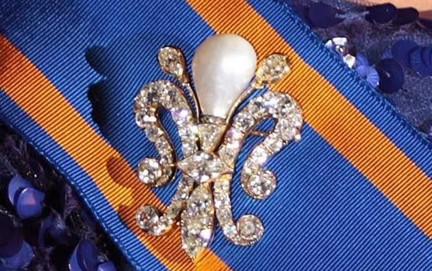 Princess Ingeborg's Brooch from Luxembourg