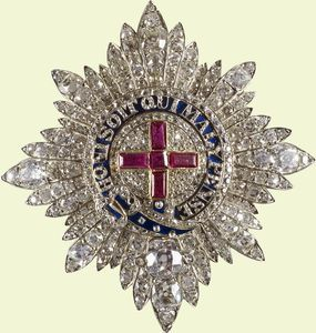 Brooches Queen Victoria S Star Of The Order Of The