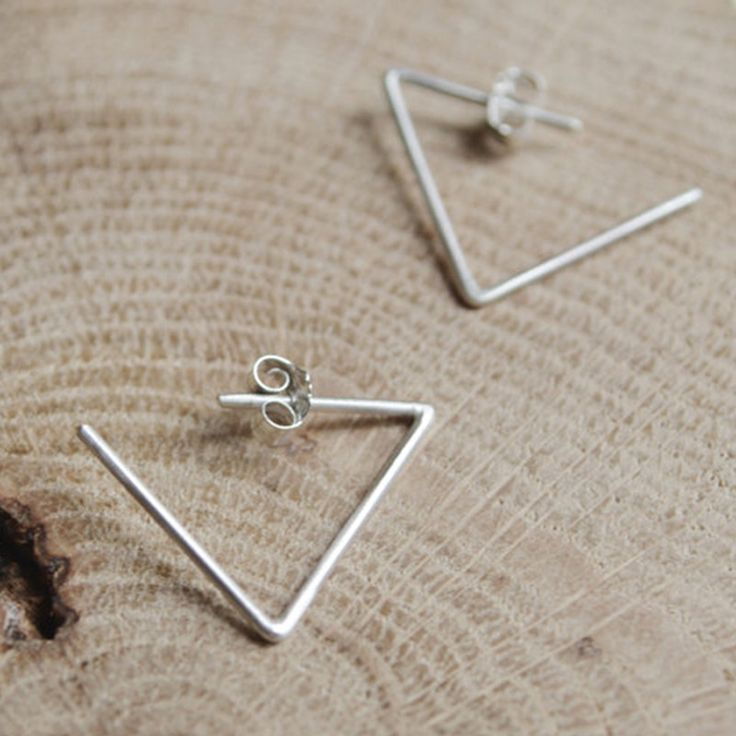 Art and Artists // Les Geometriques Nro 24 Earrings AgJc at Adorn Milk