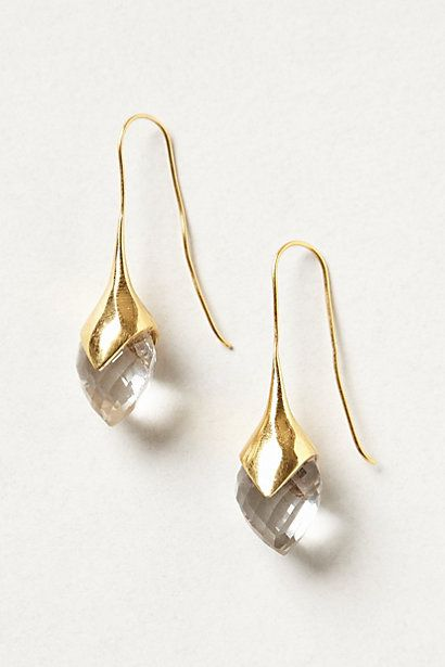 Crystallized Water Drops - they remind me of calla lilies