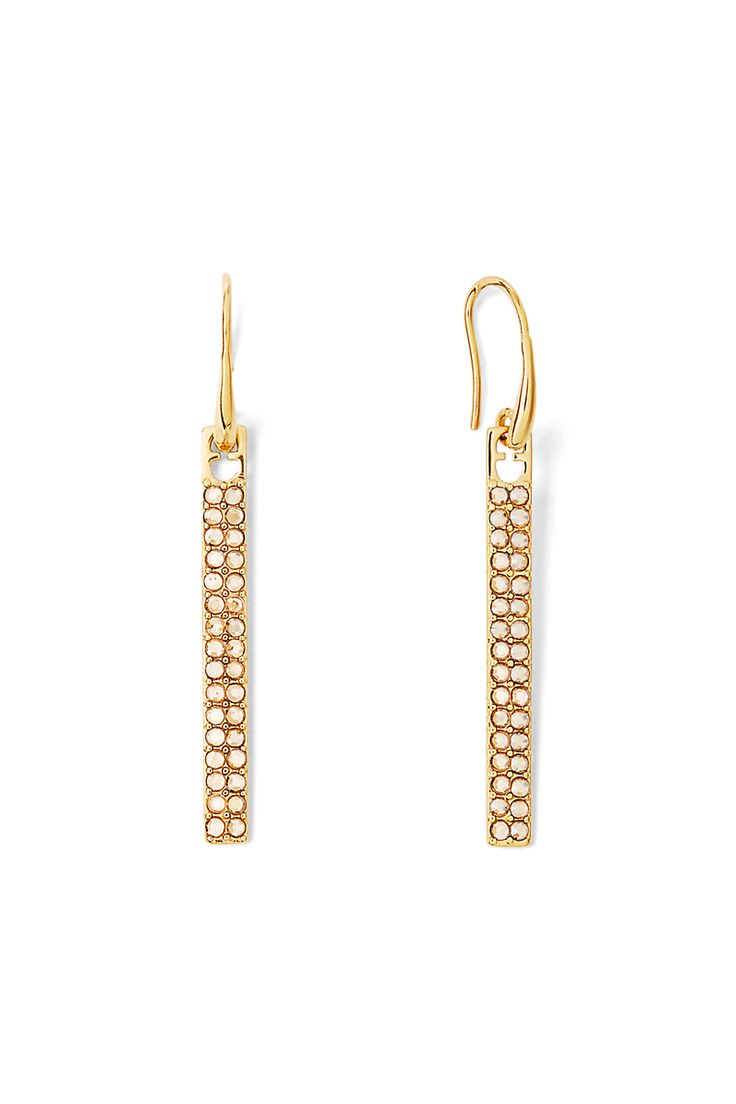 DVF Long Pavé Bar Earring