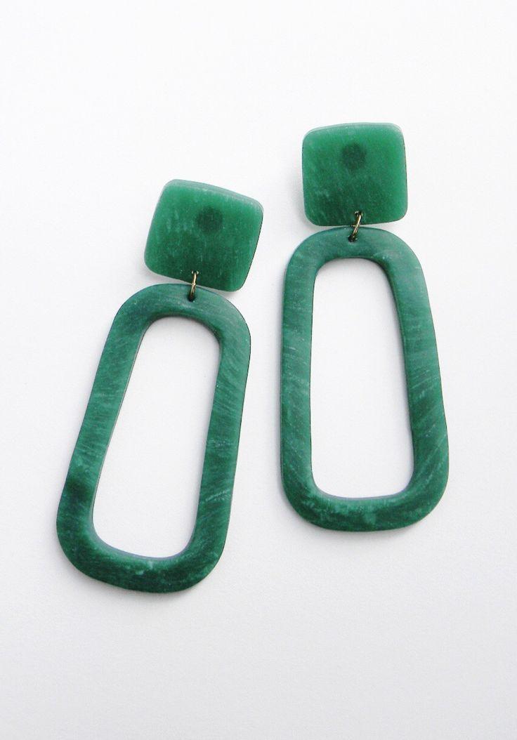 Handmade Oversized Statement Earrings  |♦F&I♦