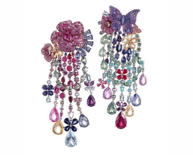 Orecchini della collezione di alta gioielleria di Rihanna - Chopard | ♦F&I♦