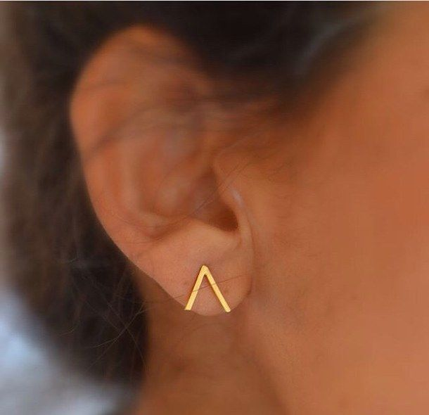 accessories, aztec, cos, cute, earring, fashion, girl, gold, h&m, hipster, hot, ...