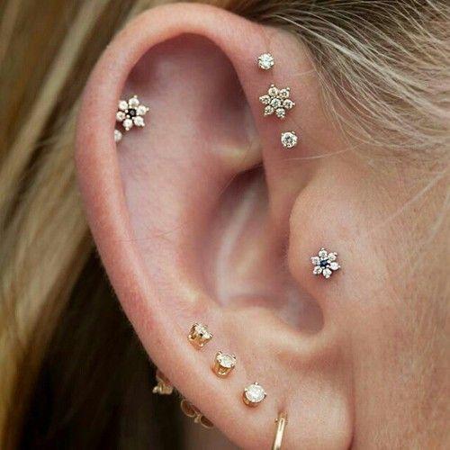 so many ear piercings