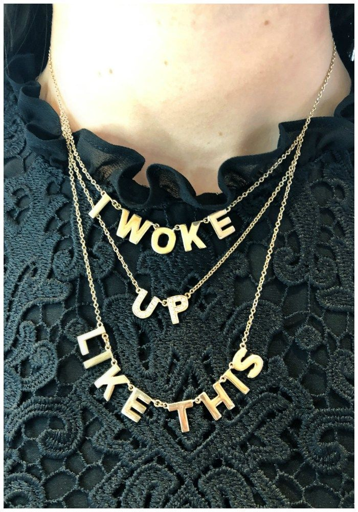 I woke up like this!! I love this necklace by Spallanzani. In gold with diamonds...
