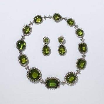 Necklace, Western Europe, first half 19th c. (shape very Regency/Empire - plausi...