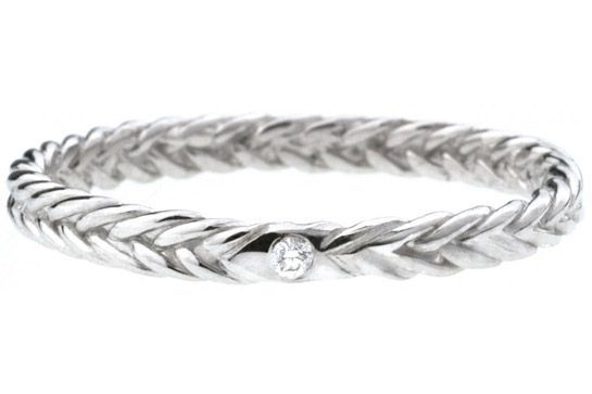 40 AWESOME Wedding Bands To Fit Your Style #refinery29 www.refinery29.co...  Her...