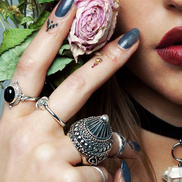 Arabian Nights. Silver Gemstone Ring