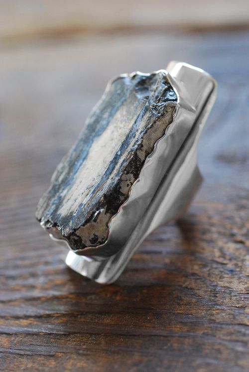 Rings Ideas : Dollybird Epoch Ring Fossil Mammoth Tooth