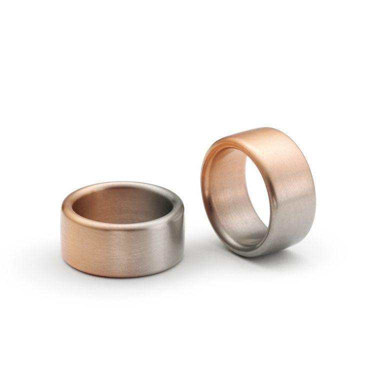 32554f8bf Niessing - Aura Wedding Rings - ORRO Contemporary Jewellery Glasgow - www. orro.c