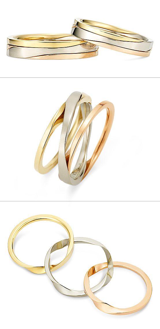 Ring: Gimmel Ring (Three-strand)./ 【リング -Gimmel ring-ギメルリング(...