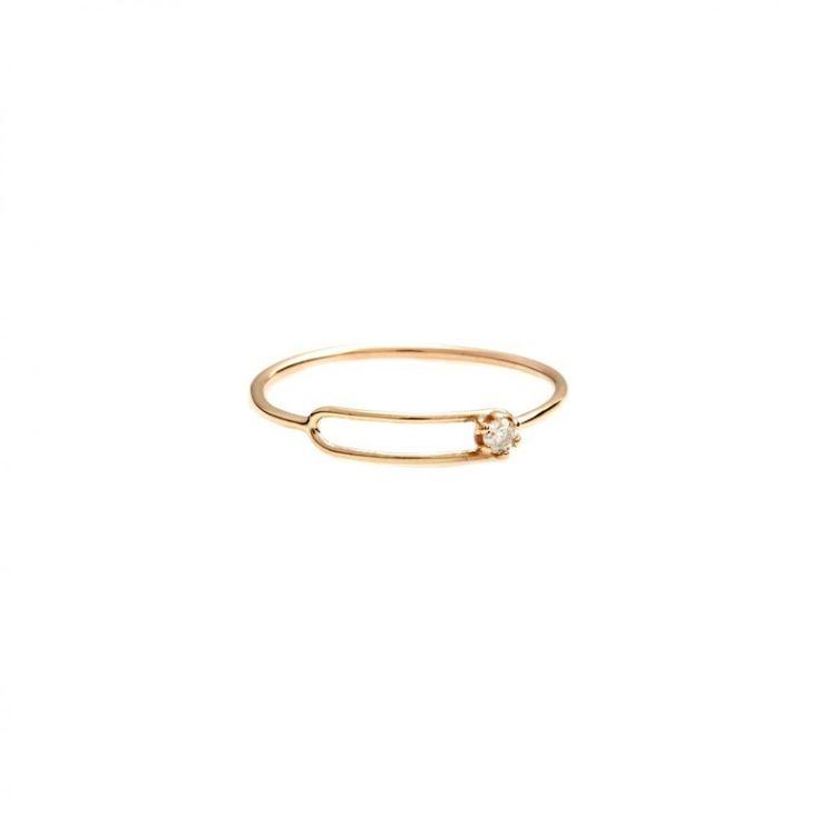 Small Oblong Ring by Sarah and Sebastian, Designer Sarah and Sebastian Jewellery...