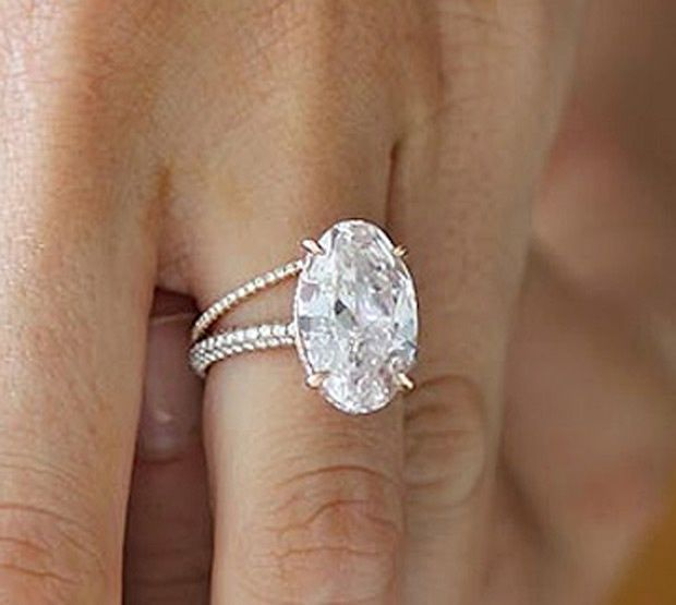 blake lively pink oval diamond engagement ring