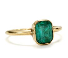 Antique Emerald Ring  #lifeinstyle #greenwithenvy