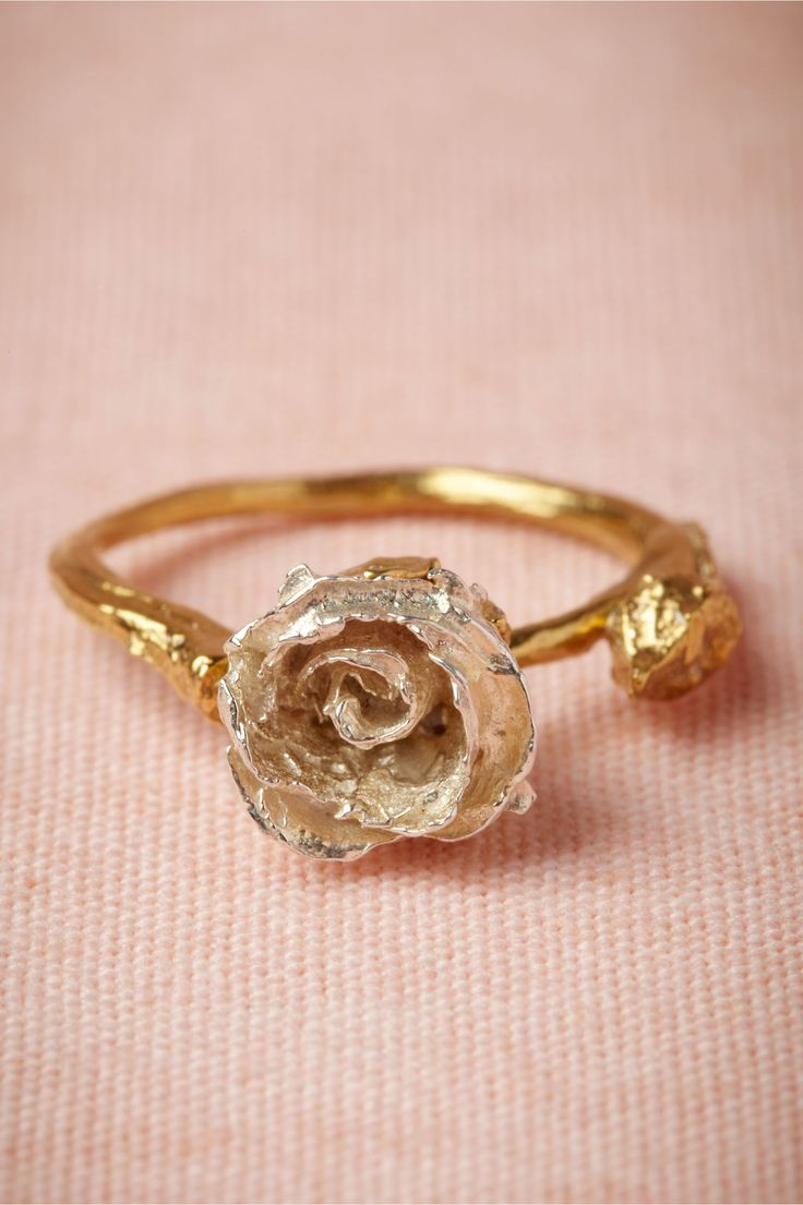 Rings Inspiration : Silver Bud Ring from BHLDN - ZepJewelry.com ...