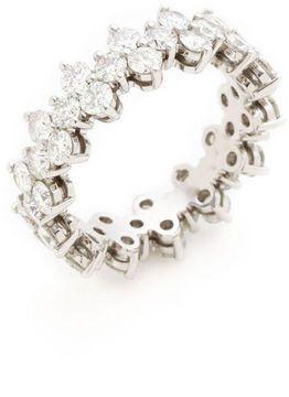 Tiffany & Co. Aria Platinum & Diamond Band Ring
