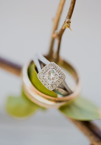 pretty engagement ring   Heirloom Collective