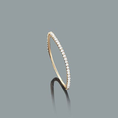 ultra thin diamond ring