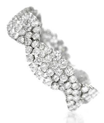 1967 Van Cleef & Arpels diamond bracelet
