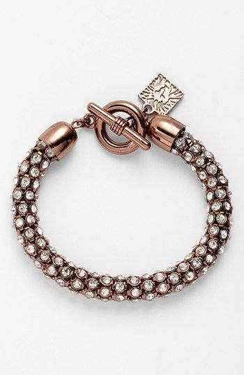 Anne Klein Pavé Toggle Bracelet   Nordstrom