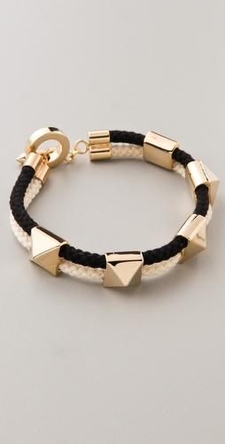 Noir for L.A.M.B. Pyramid Stations Bracelet / shopbop