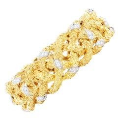 Van Cleef & Arpels Gold Diamond Bracelet
