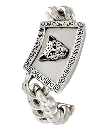 Leopard Bracelet BD Big Chunky Link Statement Recyclebabe…