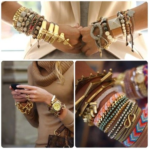 Arm Candy - lots of it.