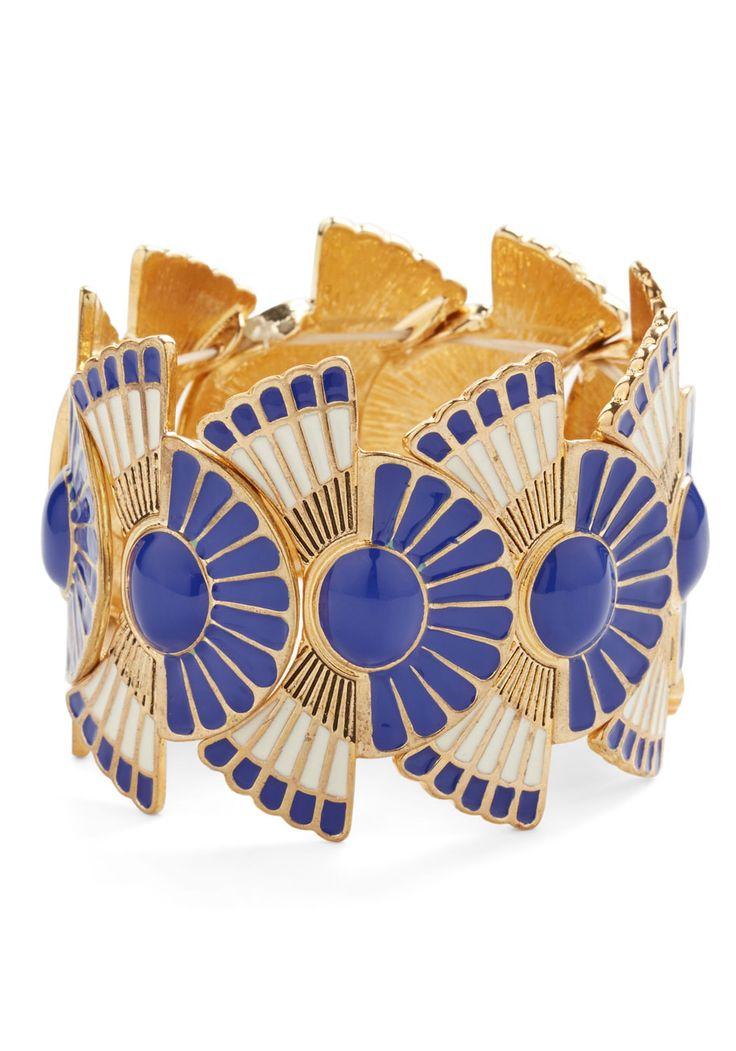 Jewelry - Loyal Fanfare Bracelet in Cobalt