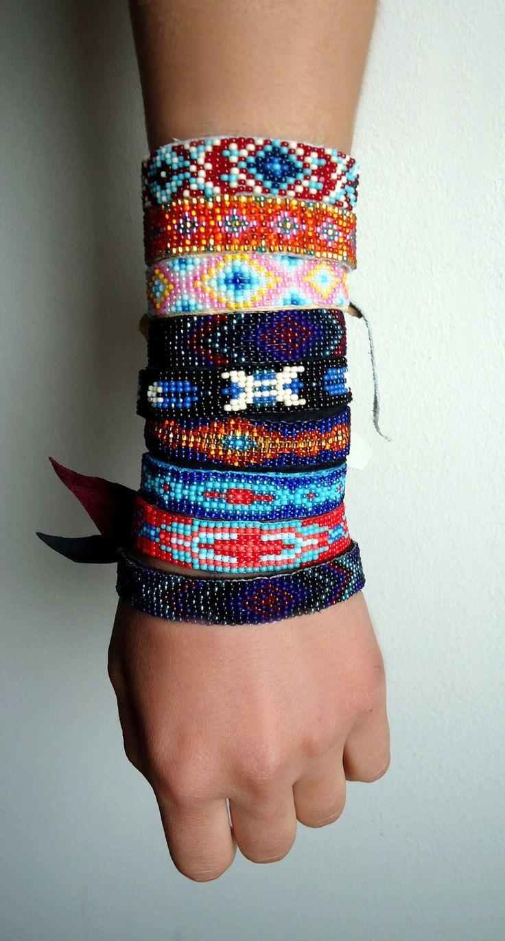 Native American Bead Bracelets