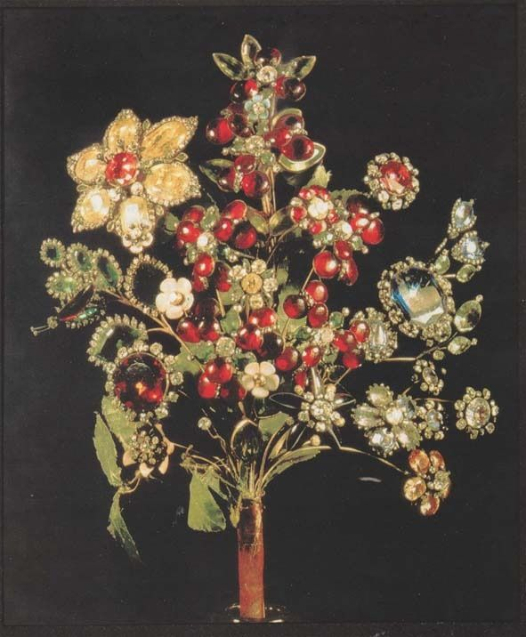 Brooches Jewels : Diamond brooch by Jeremiah Posse, 1740, St