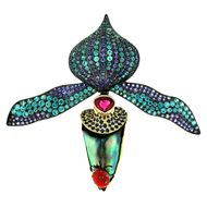 Paula-Crevoshay-Orchid-abalone-pearl-brooch