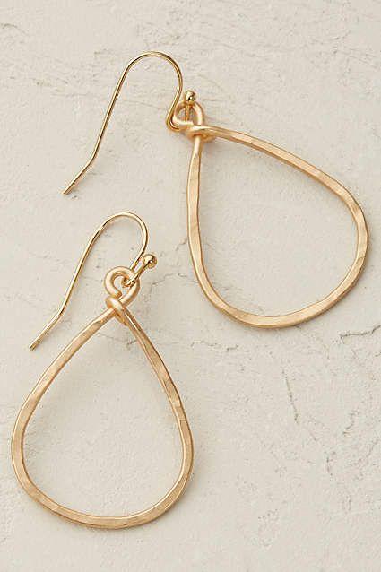 Anthropologie EU Pandora Hoop Earrings. We are firm believers that every jewelle...