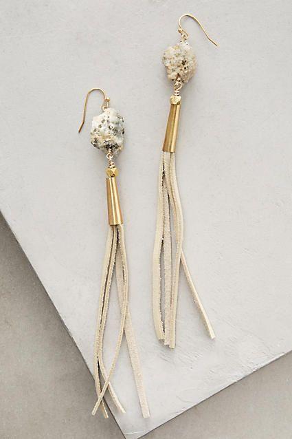Cara Fringe Earrings - anthropologie.com