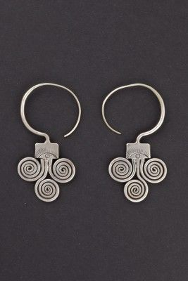 Earrings Guizhou, China First half 1900