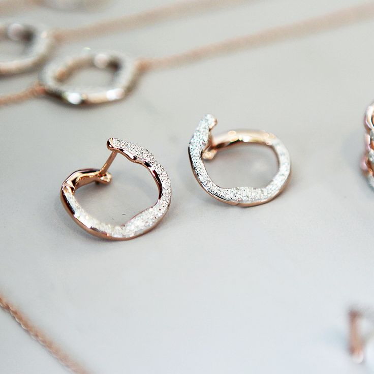 Introducing Our First Wrap Around Earring Styles The Riva Diamond Circle Earr