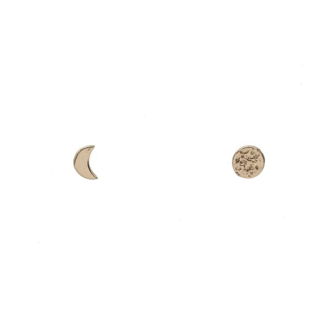 Moon and Eclipse Studs $ 40