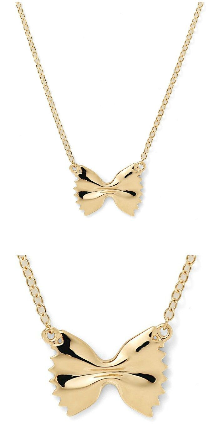 The farfale necklace from Alison Lou's Mama Mia collection.