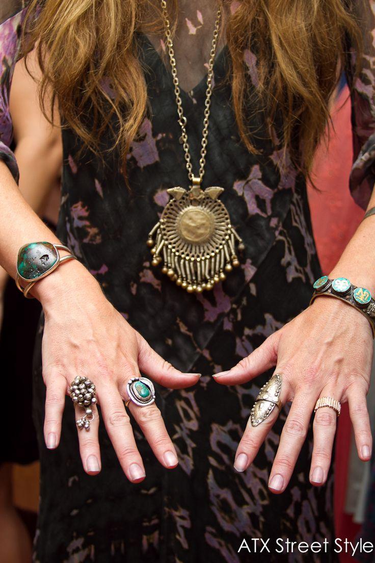 Boho Jewelry - Statement Rings - Austin Fashion - Austin Style