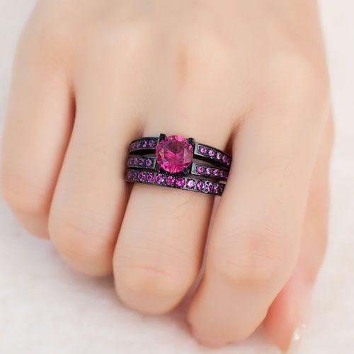 Cubic Zirconia Wedding Ring