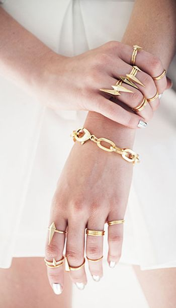 Gold layered jewelry