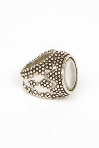 Incredible Low Luv ring by Erin Wasson. Chunky goodness!